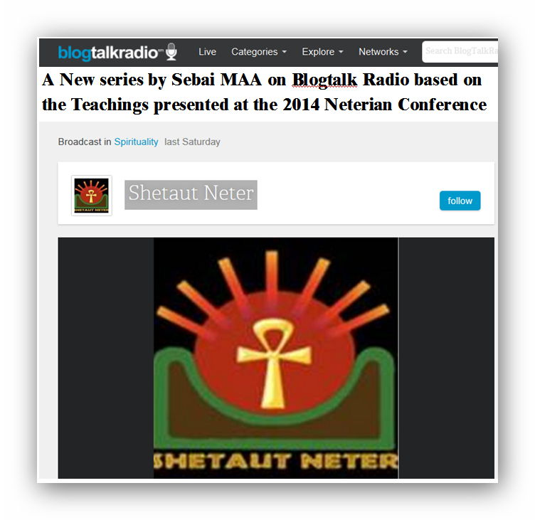 2014 Neterian Conference on Blogtalk radio
